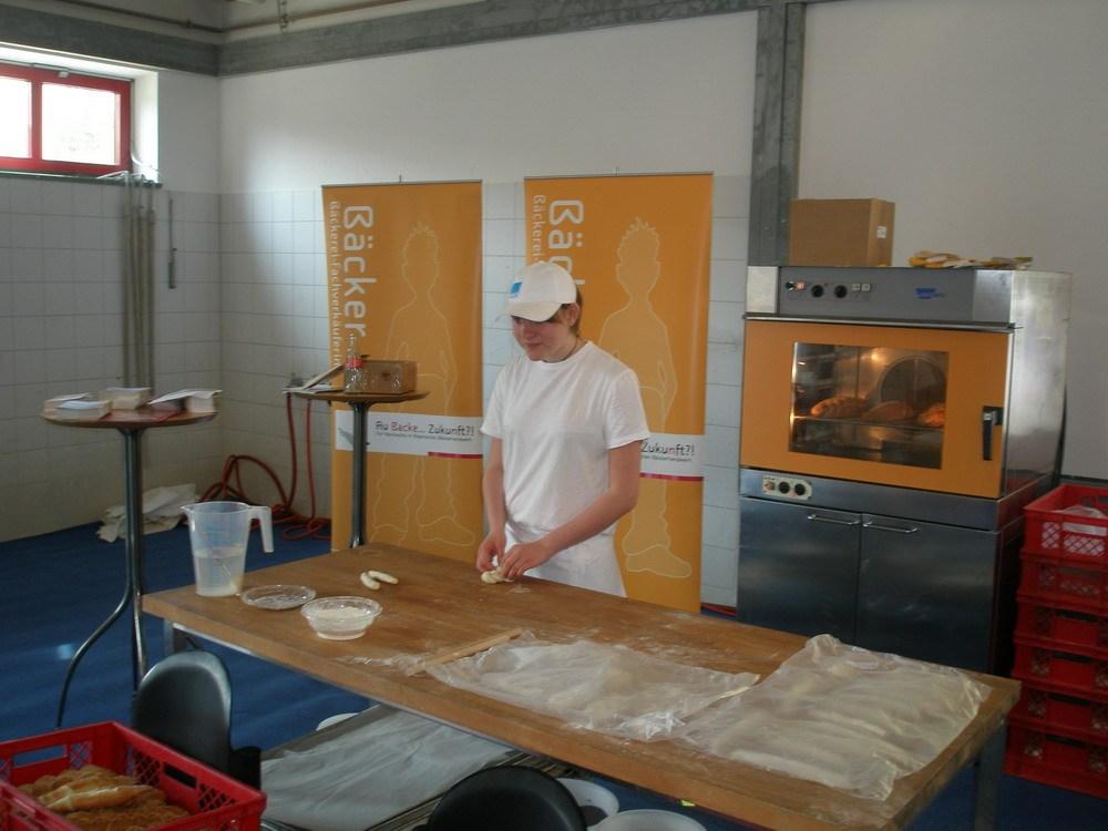 Vorstellung Bäckerhandwerk  in Traunstein